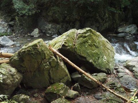摂津峡公園_八畳岩