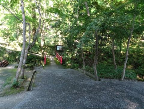 神峯山寺の石段